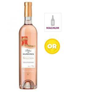 Bernard Magrez Magnum Château des Muraires 2016 Côtes de Provence - Vin rosé de Provence - Côtes de Provence - 1,5 l
