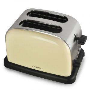 Klarstein Aquavita - Set petit-déjeuner rétro bouilloire & grille-pain