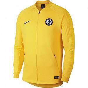 Nike Veste de football Chelsea FC Anthem Enfant plus âgé - Jaune - Taille XL