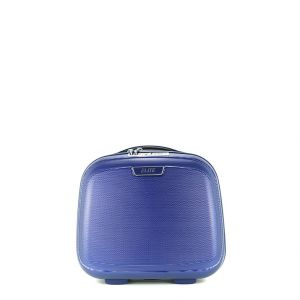 Elite Group Vanity case rigide 100% Pure Polycarbonate 35 cm Marine bleu