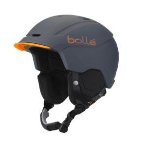 Bollé Casques Instinct - Soft Grey / Orange - Taille 51-54 cm