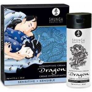 Shunga Erotic Art Crème de Virilité Dragon Sensible 60 ml