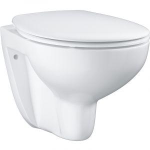 Grohe Cuvette de WC suspendue BAU CERAMIC - Couleur : BLANC