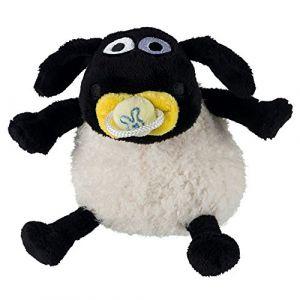 Trixie Timmy peluche Shaun le Mouton 15cm - Noir et blanc - Pour chien