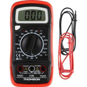 Thomson Multimètre digital antichoc - 5 Fonctions CAT III 600V