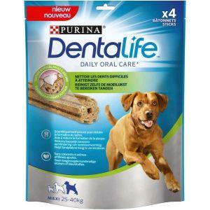 Purina Dentalife Large - 4 bâtonnets à mâcher pour chien de 25 à 40 kg