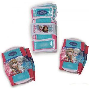 D'arpèje Set de 3 protections La Reine des Neiges (Frozen) : Genouillères, coudières et protège-poignets