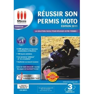 Réussir son permis moto - Edition 2011 [Windows]
