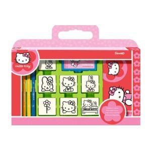 Multiprint Valisette 7 tampons Hello Kitty