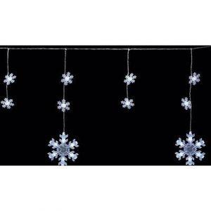 Polarlite PDC-03-002 - Guirlande lumineuse à motifs flocons de neige LED pour l'extérieur secteur blanc froid 900