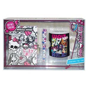 Mon0579 - Coffret cadeau journal intime + stylo + mug Monster High