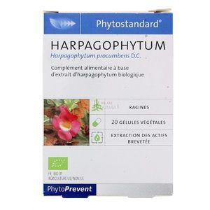 Pileje Phytostandard Harpagophytum - 20 gélules