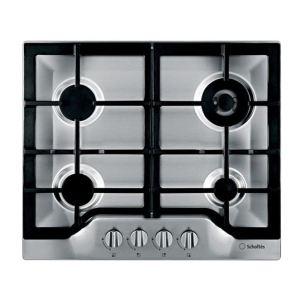 Scholtes TG 641 GH - Table de cuisson gaz 4 foyers - Comparer avec  Touslesprix com
