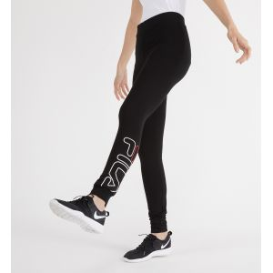 FILA Upl Flex 2.5 Leggings, Legging de sport Femme, Noir (Black 2), XS (Taille fabricant: XS)