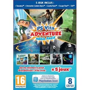 Adventure Games Mega Pack + Carte mémoire 8 Go [PS Vita]