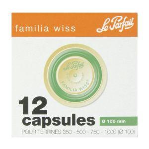 Le Parfait 12 capsules Familia Wiss (10 cm)