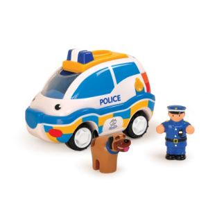 WOW Toys Voiture de police à friction Charlie