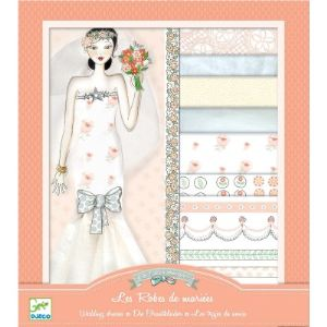 Djeco Oh ! la mode : Les robes de mariées