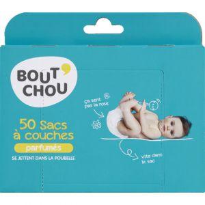 Bout'chou Sac à couches parfumés - La boîte de 50 sacs
