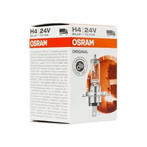Osram Ampoules auto 64196 H4 75/70W24V (Emballé par 10)