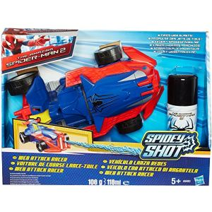 Hasbro Véhicule de combat Spider-Man avec lance fluide