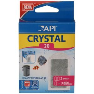 API Fishcare Crystal Superclean20 X2