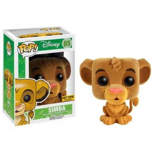 Funko Figurine Pop! Le Roi Lion : Simba Flocked 9 cm
