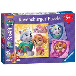 Ravensburger 3 puzzles Pat' Patrouille 49 pièces (08008)