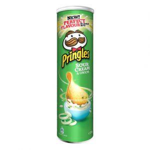 Pringles Sour cream & onion 210g - La boîte de 210g