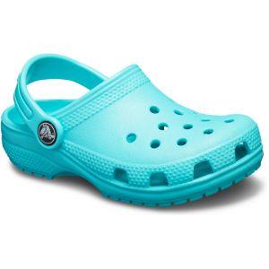 Crocs Classic Clog, Sabots Mixte Enfant, Bleu (Pool) 34/35 EU