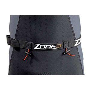 Zone3 Race - with Gel Loops jaune/noir Ceintures porte-dossard & Porte-puce