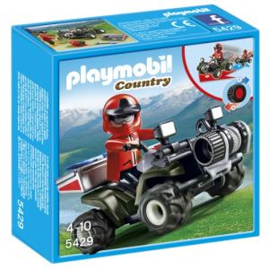 Playmobil 5429 Country - Quad de secours en montagne