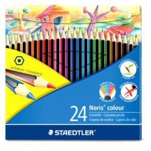 Staedtler 185 C12 - Noris Plumier avec 12 couleurs assorties