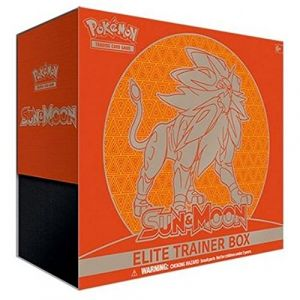 Asmodée Elite Trainer Box Pokémon Sm1 Sun & Moon - Lunala