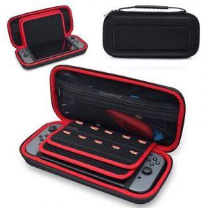 Pochette Sacoche De Rangement Etui Rigide En Evapour Nintendo Switch Console