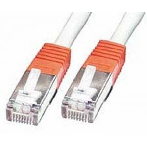 Lindy 44302 - Câble réseau RJ45 croisé Cat.5e FTP 1 m