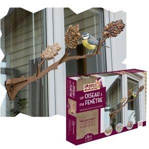 L'oiseau à ma fenêtre à assembler - Graines de Découverte