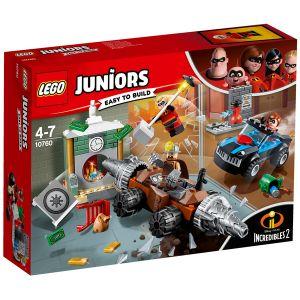 Lego 10760 - Juniors - The Incredibles II : Braquage d'une banque du Démolisseur