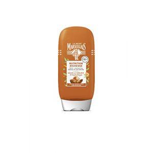 Le Petit Marseillais Après-shampooing Nutrition Richesse pour Cheveux Secs à Très Secs à l'Infusion de Calendula et Huile d'Argan