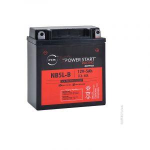 Nx Batterie Moto NB5L-B/YB5L-B/12N5-3B 12V 5Ah
