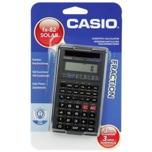 Casio FX-82 Solar - Calculatrice scientifique solaire