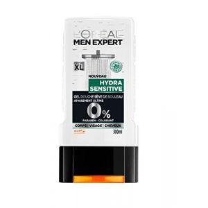L'Oréal Men Expert Hydra Sensitive Gel Douche pour Homme 300 ml