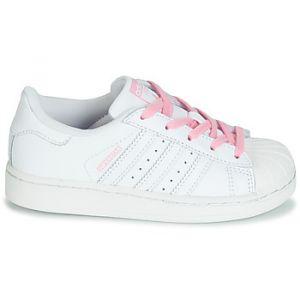Adidas Chaussures enfant SUPERSTAR C blanc - Taille 30