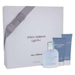 Image de Dolce   Gabbana Light Blue Eau Intense - Coffret eau de parfum,  baume 7d9543694c75