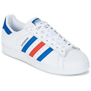 Adidas Superstar Baskets Blanc Homme