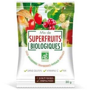 Comptoirs et Compagnies Mix de Superfruits Bio 30g