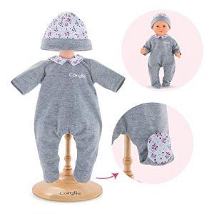 Corolle Vêtements pour poupée mon premier poupon 30 cm : Pyjama panda party