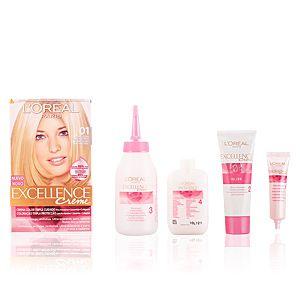 L'Oréal Excellence 01 Blond Ultra Clair Naturel - Crème colorante triple protection