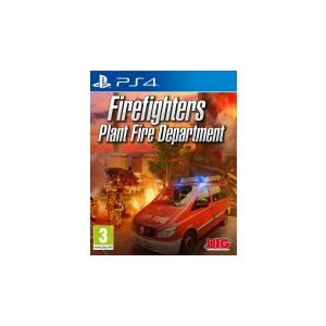 Firefighters 2017 Plant Fire Department sur PS4