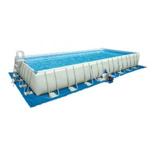 Intex Tapis de sol pour piscine rectangulaire